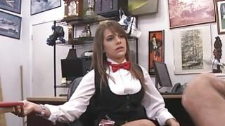 Pornstar got some cash for her cameltoe pussy