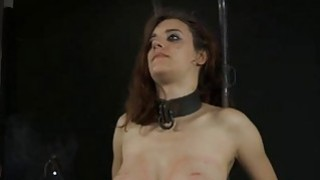 Beauty receives agony for her hairless cunt