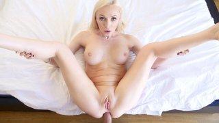 Butt Bunny Blonde's Balls Deep Buggery