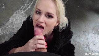 Italian Blonde Loves Public Sex