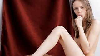 Captivating playgirl is delighting her hottie pot